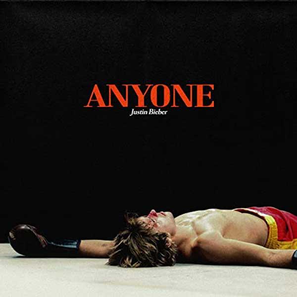 copertina canzone Anyone by Justin Bieber