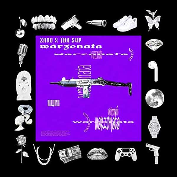 copertina brano Warzonata by zano e tha supreme