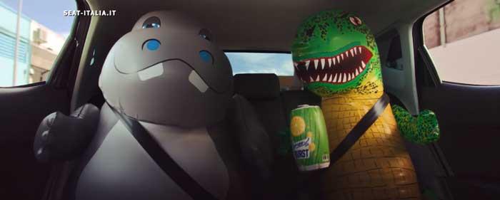 pubblicità SEAT Arona e Ibiza a metano 2021