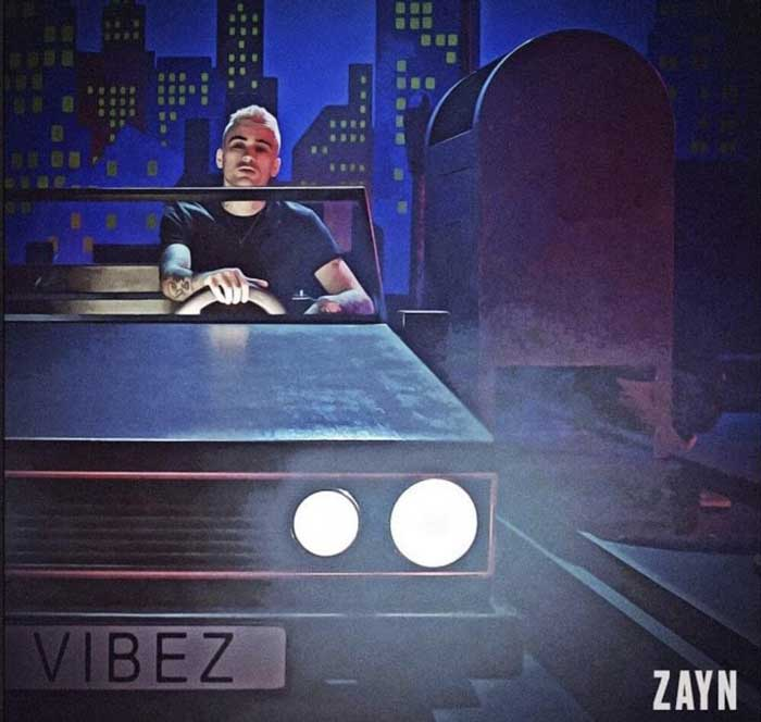 copertina brano vibez by Zain Malik