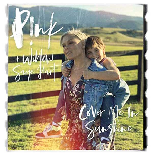 copertina brano cover me in sunshine
