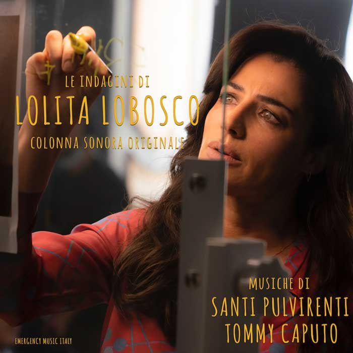 copertina colonna sonora Le indagini di Lolita Lobosco