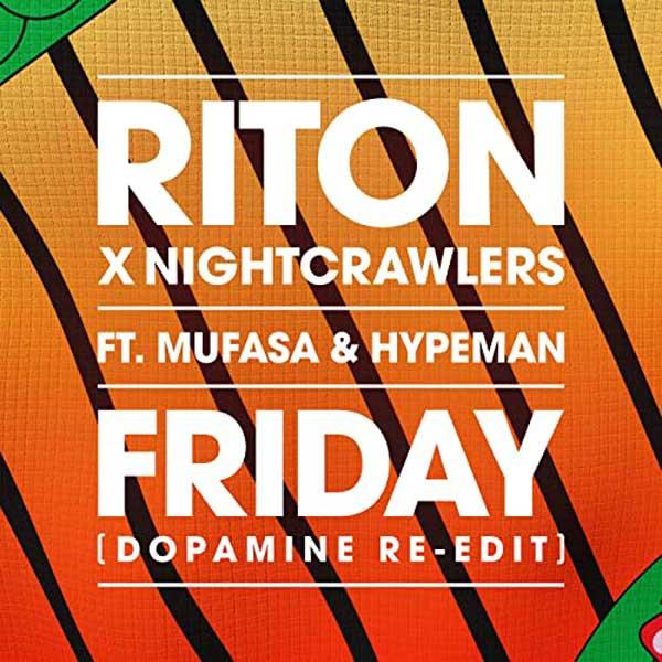 copertina brano friday by riton e Nightcrawlers