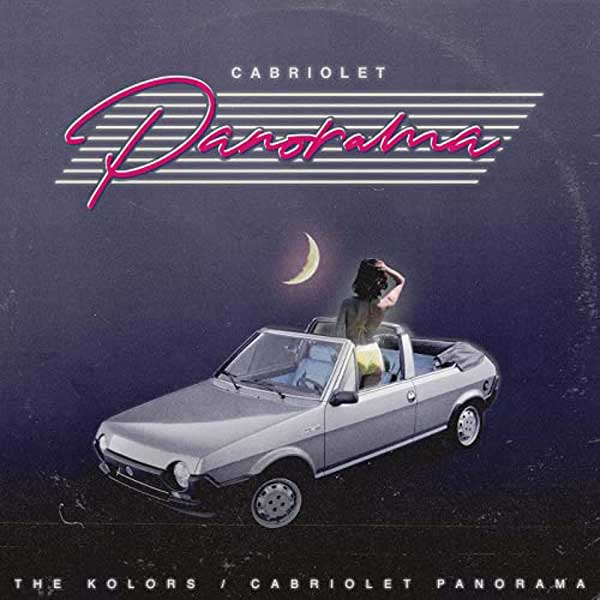 Cabriolet Panorama copertina brano the kolors