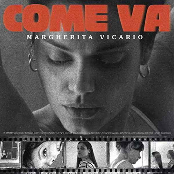copertina brano come va by Margherita Vicario