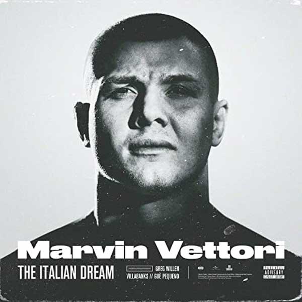 copertina brano Marvin Vettori The Italian Dream
