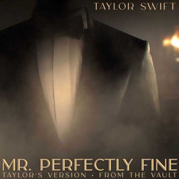 Mr. Perfectly Fine copertina canzone taylor swift