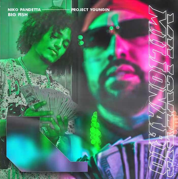 copertina brano milionario by niko pandetta