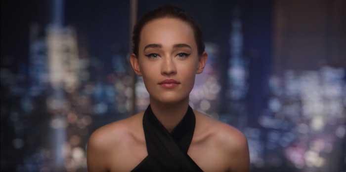 pubblicità shiseido ginza 2021
