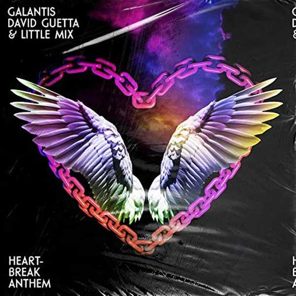 Heartbreak Anthem copertina brano little mix david guetta galantis