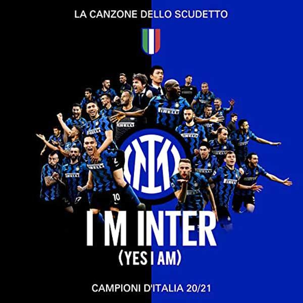 copertina canzone I M INTER (Yes I am)