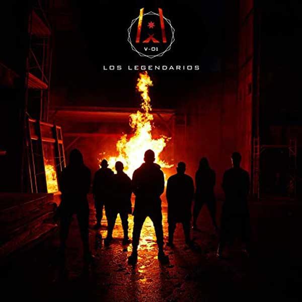 copertina album Los Legendarios 001