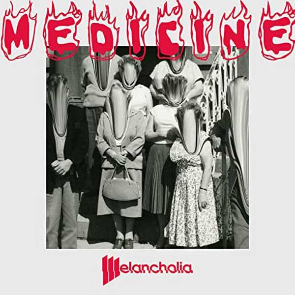 copertina brano Medicine by Melancholia