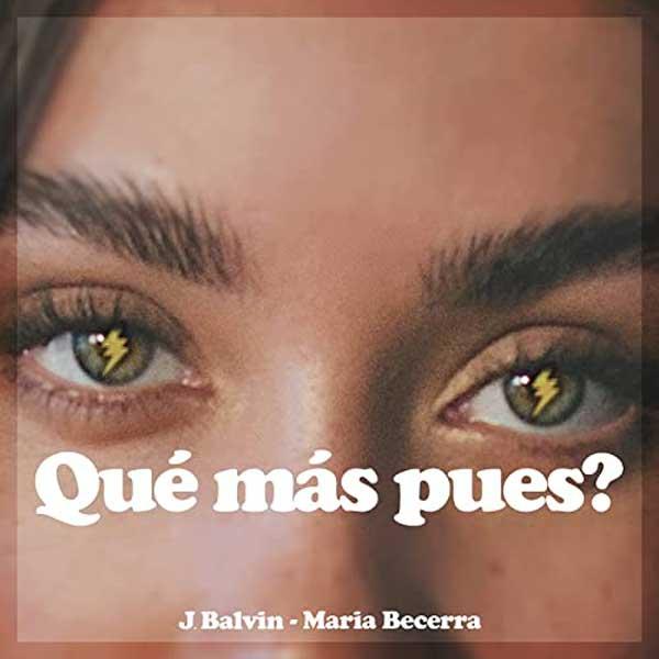 copertina brano Qué Más Pues? by J Balvin