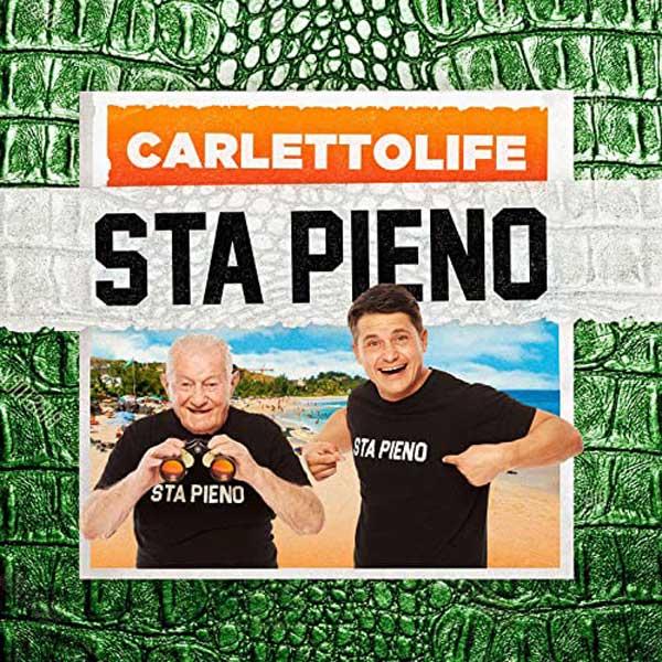 sta pieno copertina canzone Carlettolife
