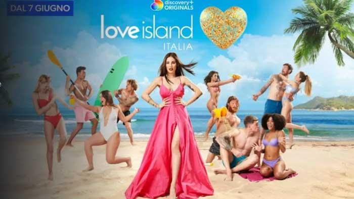 love island italia locandina