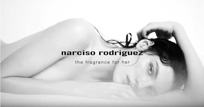pubblicità narciso rodriguez for her MUSC NOIR maggio 2021