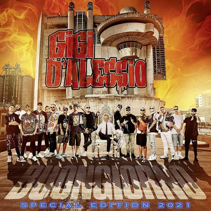 copertina album Buongiorno Special Edition 2021