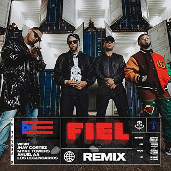 copertina brano Fiel Remix