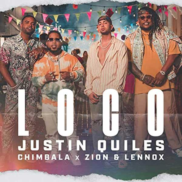 copertina brano loco by Justin Quiles