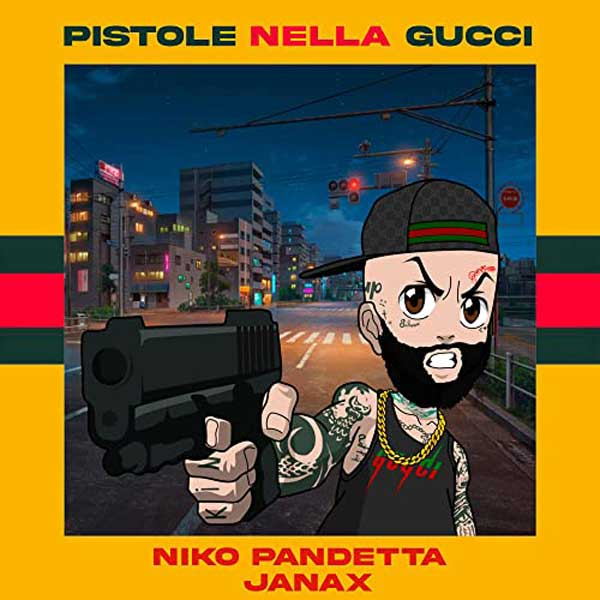 copertina brano Pistole Nella Gucci