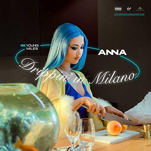 Dripping in Milano copertina brano anna