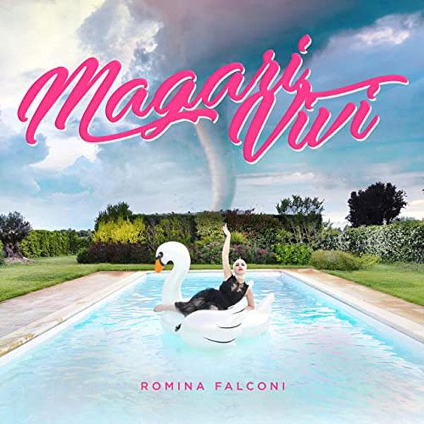 magari vivi copertina brano romina falconi