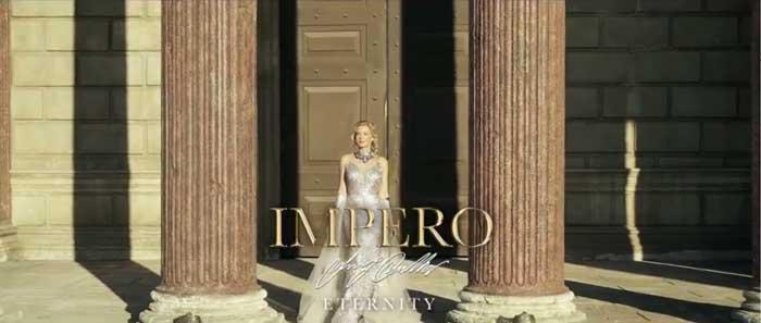 pubblicità Impero Couture 2021