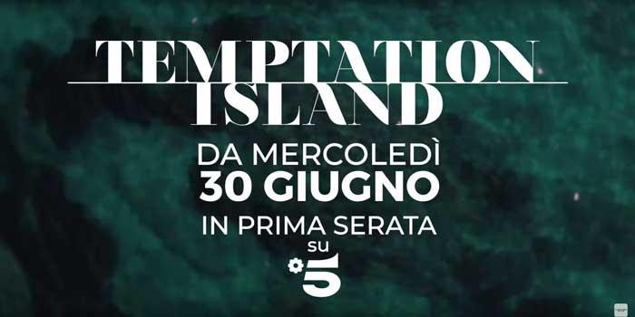 pubblicità temptation island 2021
