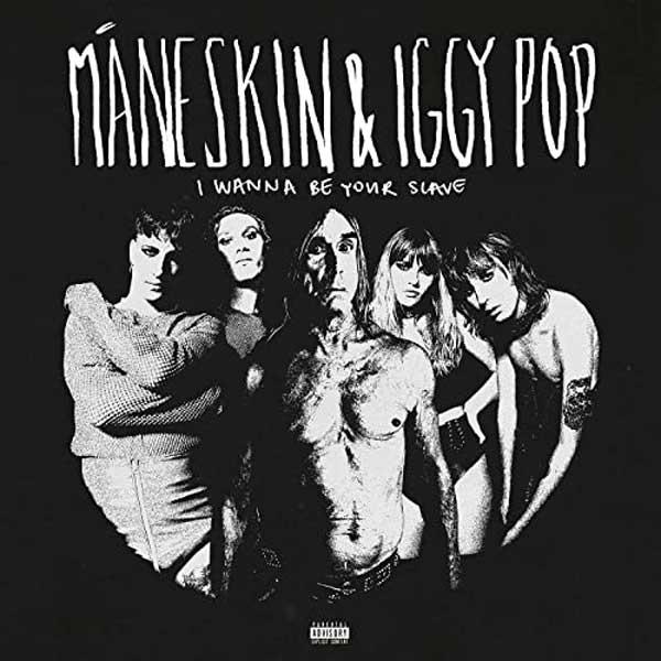 copertina I Wanna be your slave con Iggy Pop