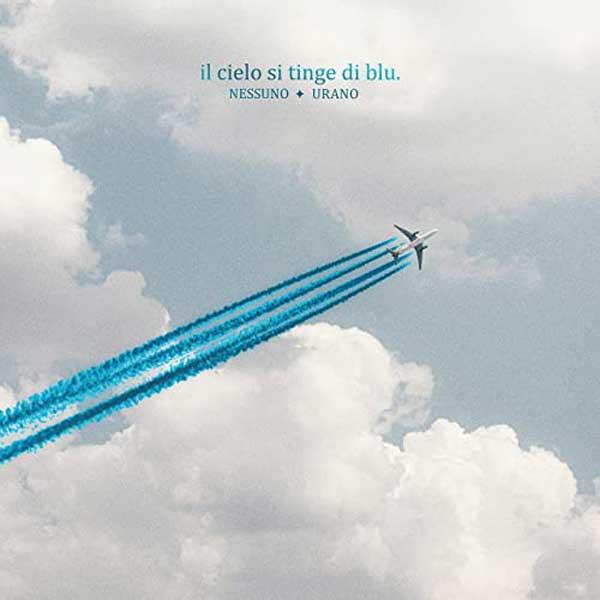 copertina canzone Il cielo si tinge di blu